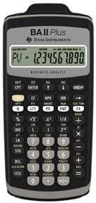 price Texas Instruments BA-II-PLUS TI BA Surprise price Plus Calc Slide Case II