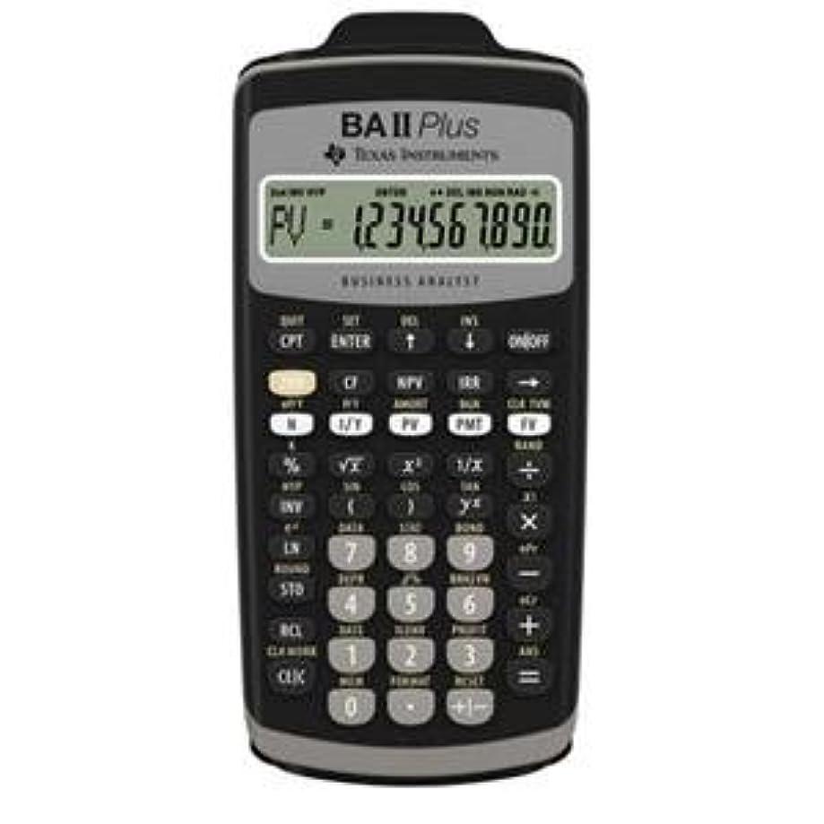 技術者流競争Texas Instruments BA-II-PLUS TI BA II Plus Calc スライドケース