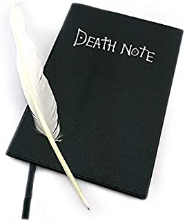 Death Note notebook Yagami Light cosplay notebook and quill-pen[WJZB0028]