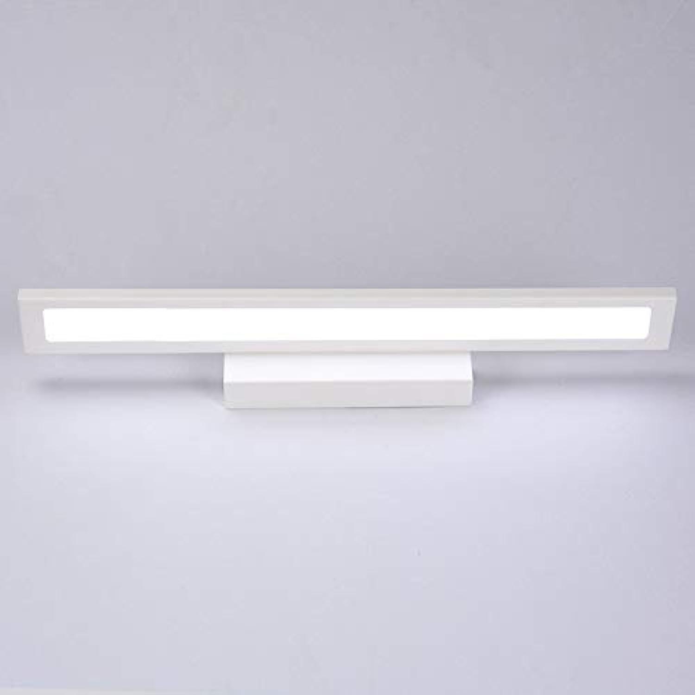 XY&XH Wandlampe, LED Wandleuchte Minimalismus Spiegel Frontleuchte Badezimmer Wandleuchten Moderne Pinup-Leuchte Flur Porch Beleuchtung, Wei, Warmwei, 25cm, 5W