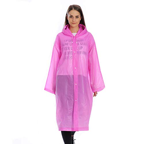 Unisex Vrouwen Mannen Wegwerp Regenjas Outdoor Transparant Winddichte Regenjas Mannen Vrouwen Heldere Transparante Camping Regenkleding Pak