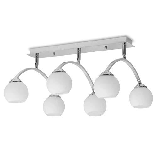 vidaXL - Lámpara de techo para 6 bombillas G9 (240 W)