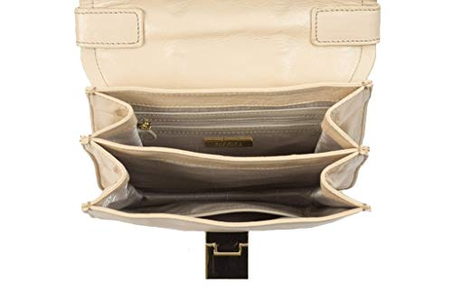 Badgley Mischka Lucille Crossbody Bag, Latte,