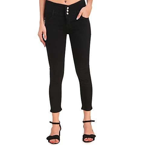 STYLONES Women's Stretchable Slim Fit Ankle Length High Waist Denim...