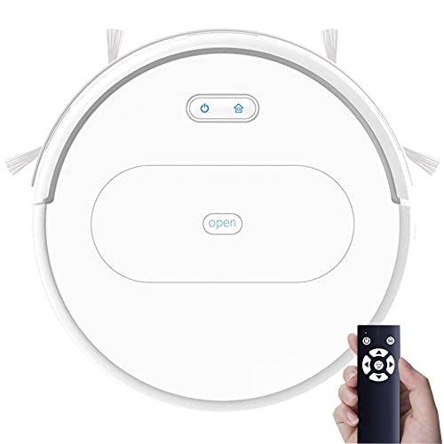 Robot Vacuum Cleaner 1800Pa High Suction Automatic Self-Charging Robotic Vacuum with App Controlled, Tangle-Free Good for Pet Hair, Hard Floors & Thin Carpets, Super Quiet,White vacuum cleaner TNSYGSB