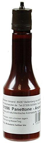 Hobbybäcker Aroma Panettone ► Zur Verfeinerung von Hefeteig, Plätzchen, Stollen, ital. Spezialität, Spritzflasche, 100g