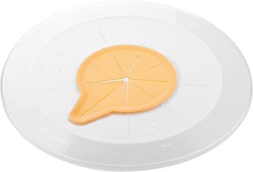 Tescoma Deckel, Kunststoff, weiß/gelb, 30.2 x 30.2 x 1.3 cm