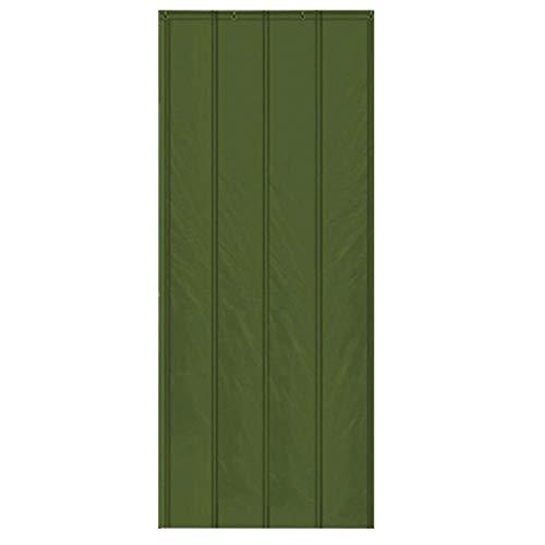 Whinop Grün Waermeschutz Vorhang 110x220cm/43.3x86.7in Gdming Warmeschutzvorhang für Mall Doorway School Ddorm Room Partition Türvorhang