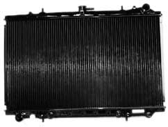 TYC 48 Nissan Maxima Special Fashion price 1-Row Replacement Radiator Plastic Copper