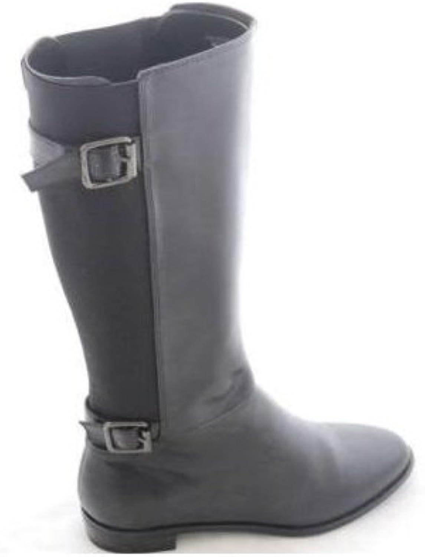 Karen Scott Women's Bright Boot (5, Black)