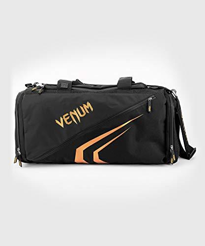 Venum Unisex-Adult Trainer Lite Evo Sporttasche, Schwarz/Gold, eine Größe