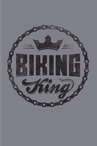 Biking King: 2021 Planner | Weekly & Monthly Pocket Calendar | 6x9 Softcover Organizer | Funny Cycling & MTB Gift