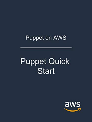Couverture du livre Puppet on AWS: Puppet Quick Start (English Edition)