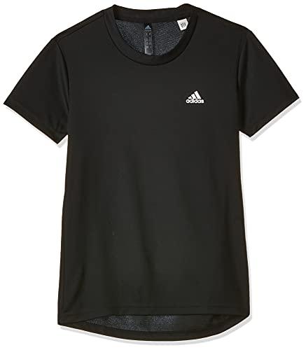 adidas W SL T, t-Shirt (Manica Corta) Donne, Black/White, XS