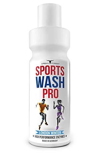 Vollwaschmittel für Outdoor,- Sport- & Funktionskleidung mit Geruchsentferner | Waschmittel für Sportbekleidung | Mikrofaser Sportwaschmittel | SPORTS WASH PRO | URBAN FOREST (1L) (LONDON-WINTER)