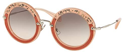Miu Miu MU08RS gafas de sol, Rosa (Pink TV14K0), Talla única (Talla del fabricante: One size) Unisex Adulto