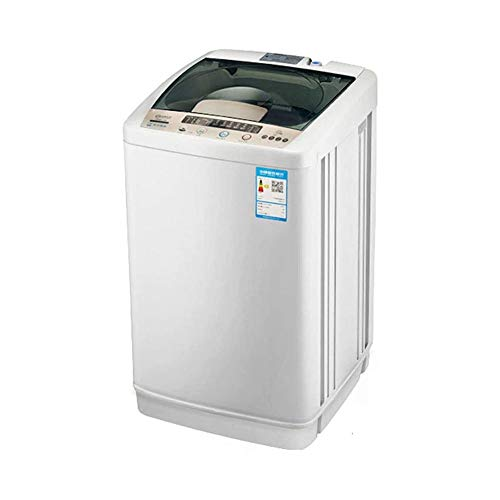 LKNJLL Mini Lavadora con Secarropas, eléctrico Compacto de lavandería máquinas portátiles Diseño...