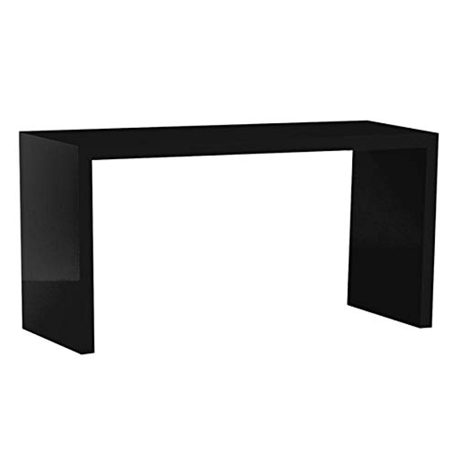 リダクター妨げるヒープarne シェルフ ディスプレイラック 棚 ディスプレイシェルフ テーブル 幅120cm 奥行45cm 高さ60cm ZERO-X 12045H black