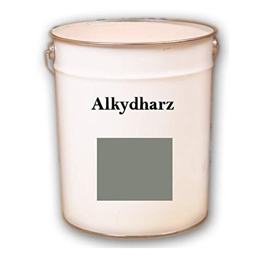 5kg RAL 7023 Betongrau grau Alkydharz matt Wandbeschichtung Wandfarbe Alkydharzfarbe