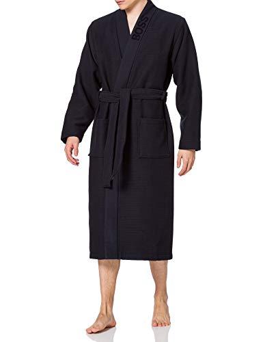 BOSS Waffle Kimono, Dark Blue403, L para Hombre