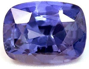 Colorado Springs Mall GemsNY Great interest Untreated 1.44 Carat Blue Cushion Natural Sapphire