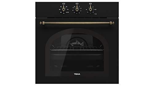 Teka Horno Multifunción Country Style Edition, Modelo HRB 6100, SurroundTemp, 6 funciones de cocinado, Eficiencia energética A, 59.5 x 59.5 x 55.9 cm, Gris, 111010006