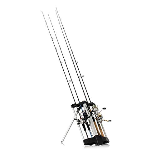 Castek 2 Pack Rod Caddy Fishing Rod Rack and Carrier