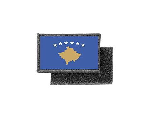 Aufnäher patch aufbügler gedruckt flagge fahne kosovo