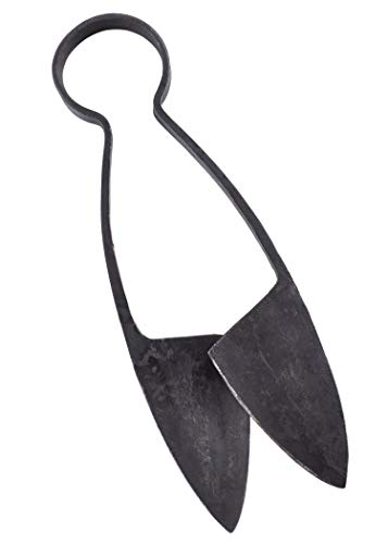 Ulfberth Große Bügelschere ca. 23 cm mit Lederhülle