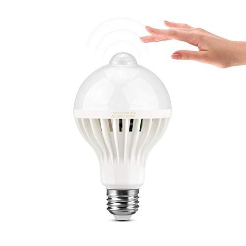Kids Lichtsnoer 3W 5W 7W 9W 12W Ir Infrarood bewegingsmelder/geluidssensor LED lamp E27 220V LED Sensor Lamp Corridor Trap Balkon Nachtlampje