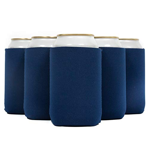 QualityPerfection 50 Beer Blank Can Cooler Sleeve, Coolies Sublimation HTV Insulated, Collapsible...