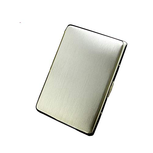 Review QINRUIKUANGSHAN Copper Cigarette Case, Thin Cigarette Case 9 Sticks, Personalized Creativity ...