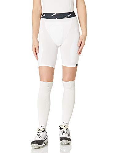 WSI Women's Slider with Protection, White, Small