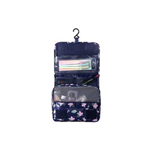 Flamingo-Druck-Kosmetiktasche Travel Portable Wash Bag Bad Hook Bag-Auffangbeutel - Für Die Baddusche Rasur Grooming Zubehör