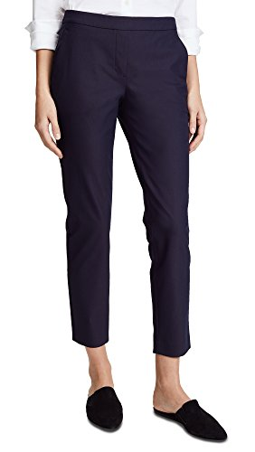 Theory Women's Approach Thaniel Pants, Light Navy, Blue, 6