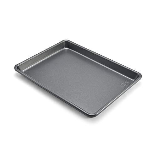 Chicago Metallic Commercial II Non-Stick Small Cookie/Baking Sheet, 12.25 by 8.75, Gray