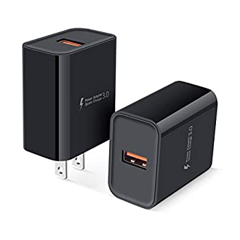 2Pack Quick Charge 3.0 Adaptive Fast Wall Charger Block AC Adapter Power Bricks for iPhone SE 11 XR 8,Samsung Galaxy S21 Note 21 20 Ultra S20 FE 5G A12 A32 A42 A11 A21 A51 A71 S10 S10E S9 S8 S7 S6 J7