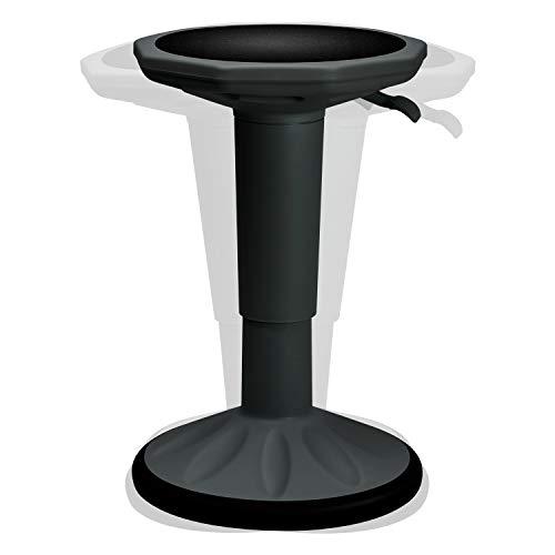 TYLINK Ergonomisch Hocker, Sitzhocker Bürohocker mit Dynamischer Schwingeffekt, Höhenverstellbar Drehbar Arbeitshocker Stehhocker Drehhocker, für Jugendliche, Erwachsene Weiß Schwarz