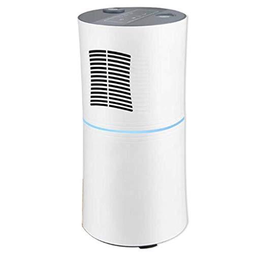 Hjgyugyutuy 2 en 1 purificador de Aire humidificador, con un Filtro Compuesto de Tres Capas, Esterilización UV, Mute, el Tiempo, Ion Negativo, Área aplicable 0-60 Metros Cuadrados.