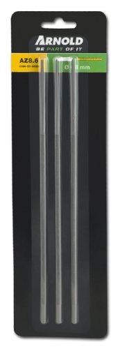 ARNOLD 1194-X1-0028 Rundfeilen für Sägeketten, 4,8 mm, 3 Stück