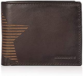 Addon Adele – Wallet for Mens, Leather Branded and Stylish   Star Wallet for Men, Black Color