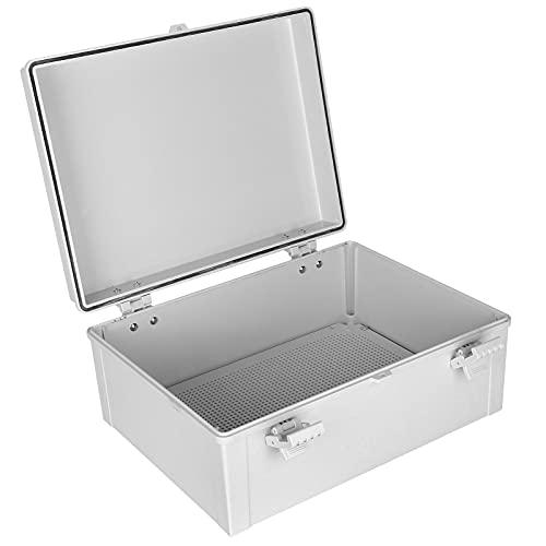 Caja de caja impermeable, Material ABS Caja eléctrica para exteriores Impermeable para exteriores para caja de caja eléctrica