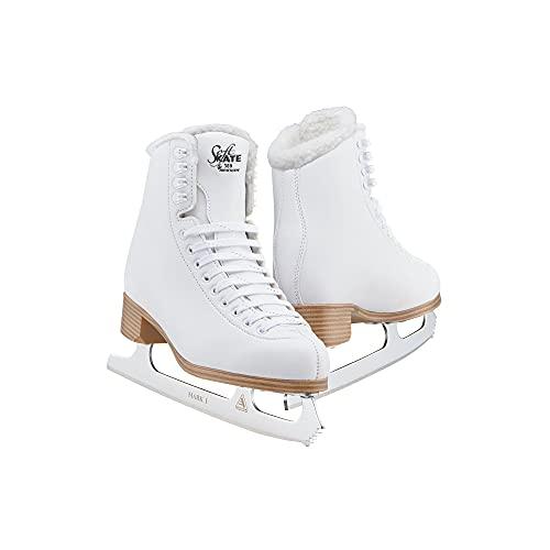 Jackson Classic Fleece SoftSkate 380 Womens/Girls Ice Figure Skates - Womens Size 7.0