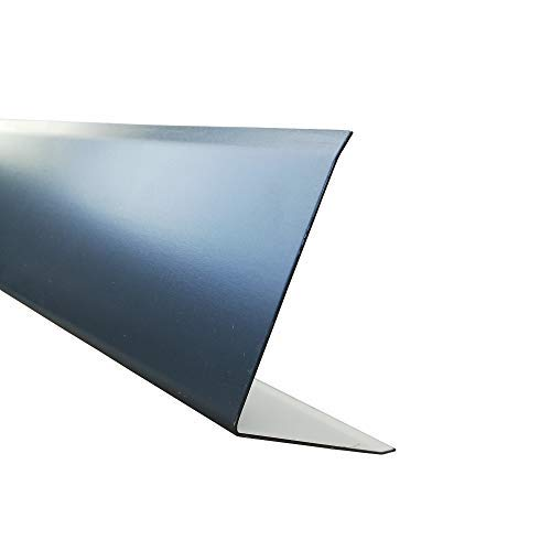 Anthrazitgrau RAL 7016 beschichtet 500x500x0,75 mm Stahl verzinkt Dachblech