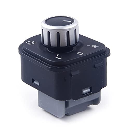 qinqin Botones de Control del Interruptor del Espejo del Lateral eléctrico 1K0959565 1K0959565H FIT FOR VW Golf MK5 MK6 / Passat B6 / TIGUAN/EOS