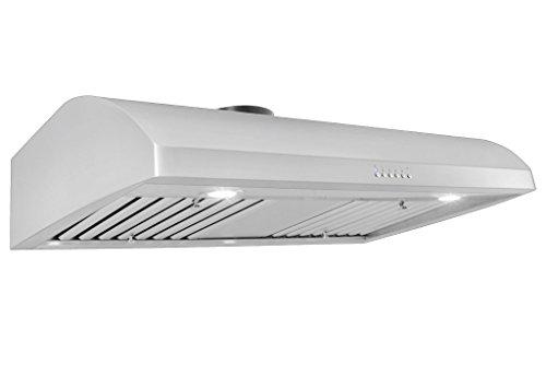 """Proline Professional Under Cabinet Range Hood PLJW 125.36 900 CFM, 36"""""""