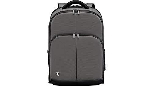 """Wenger 601073 LINK 16\"""" Laptop-Rucksack, gepolsterte Laptopfach mit iPad/Tablet / eReader Tasche in grau {21 Liter}"""