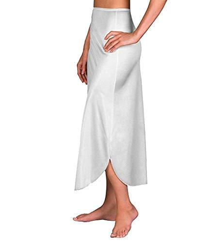 Velrose Daywear Double Slit 1/2 Slip (2116) M/White