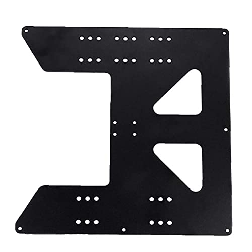 Finebrand 3d Printing Accessories Z Axis Support Aluminum Plate for Heating Bed Compatible with Anet A8 A6 Printer
