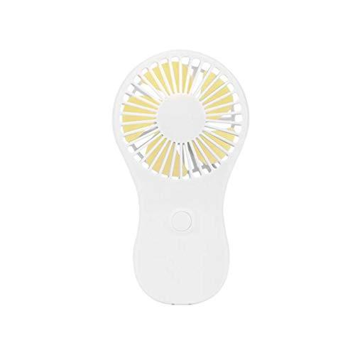 ZJUAN Mini Portatile Ventilatore Portatile,Viaggio Raffreddamento più Raffreddatore Fan,Potenza di 3X AAA Batteria Ufficio All\'aperto Casa Mini Ventola C